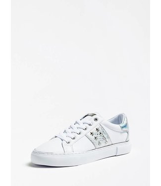 GUESS GUESS - sneaker GAMER5/ACTIVE LADY/LEATHER LIK - FL6GM5ELE12SILVE