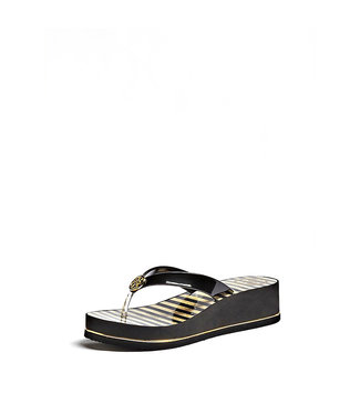 GUESS GUESS slipper ENZY/BEACH THONG/LEATHER LIKE - FL6ENZELE21BLACK