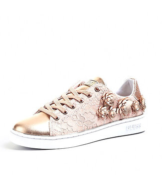 GUESS GUESS - sneaker BESSIA/ACTIVE LADY/LEATHER LIK - FL5BESLAC12ROSE