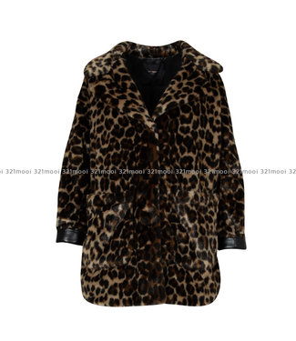 TWINSET MY TWIN TWINSET MY TWIN - Fake Fur Coat ANIMALIER - 192MP204A/04065