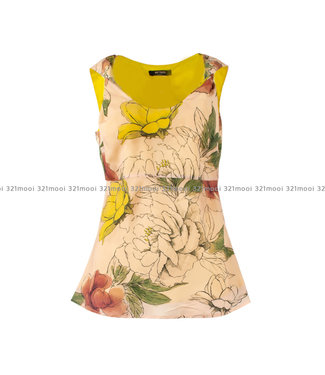 TWINSET MY TWIN TWINSET MY TWIN top WOVEN TOP ST ALL OVER FLOWERS SHELL - 191MT221303821