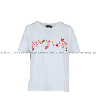 TWINSET MY TWIN TWINSET MY TWIN - T SHIRT KNITTED T SHIRT WHITE - 191MT206100733