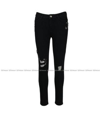 TWINSET MY TWIN TWINSET MY TWIN jeans - skinny denim nero - 191MP242201103