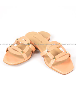 MARCH23 MARCH23 - slipper - YORK nappa peach - A3301YORKPEACH