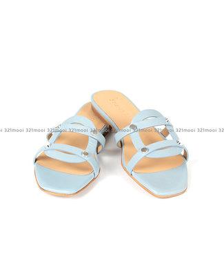 MARCH23 MARCH23 - slipper - YORK nappa dust blue - A3301YORKBLUE