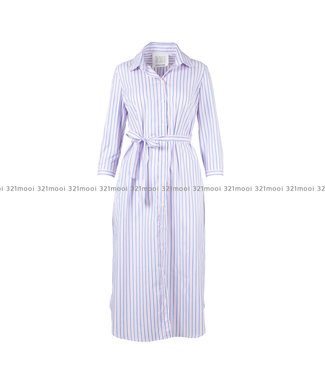 LEE AND ME LEE AND ME -  ASTER LONG SHIRTDRESS PINK/BLUE - ASTERPB