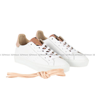 MARCH23 MARCH23 - sneaker - ELMAR-WHITE + ROSA ANTICO / WHITE SOLE