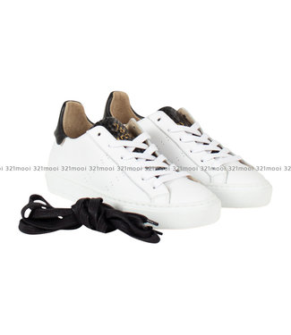MARCH23 MARCH23 - sneaker - ELMAR-WHITE + BLACK / WHITE SOLE
