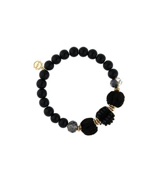 LIZAS Armband 10004843 (G/P) zwart