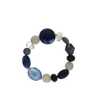 LIZAS Armband 10004988 (G/M) blauw
