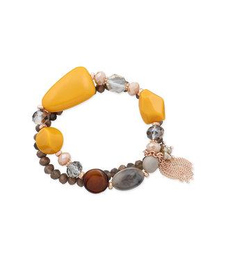 LIZAS Armband 10004983 (RG/M) geel