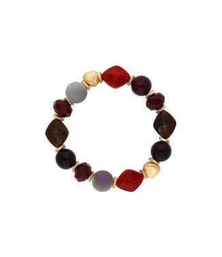 LIZAS Armband 10004974 (G/M) rood