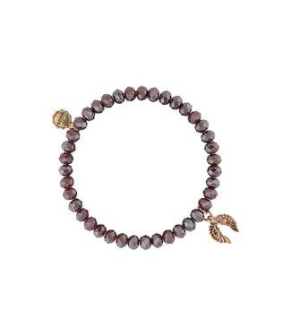 LIZAS Armband 10005265 (G/M) rood