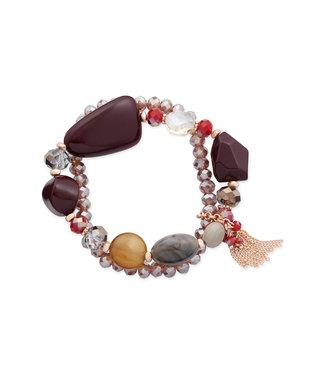 LIZAS Armband 10004984 (RG/M) rood