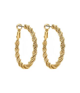 LIZAS oorbellen 36409 (G/P) gold