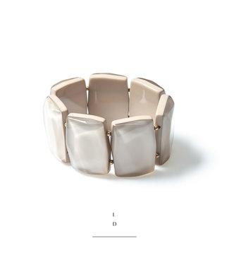 LAURENCE DELVALLEZ Laurence Delvallez armband - EEK ARMBAND GREIGE - 01055F1803GR