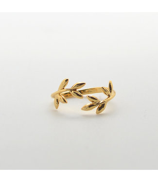 LAURENCE DELVALLEZ LD ring Big Gold