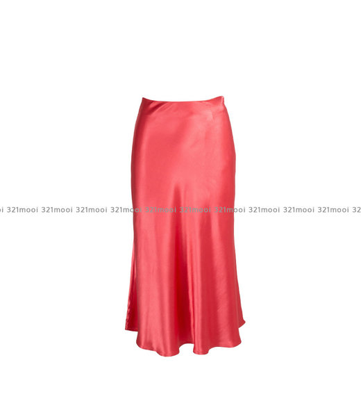 LIV THE LABEL  - DIRAND - a line floaty midi skirt - pink icing