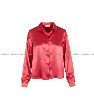 LIV THE LABEL LIV THE LABEL  - KNOLL - buttoned down shirt - pink icing