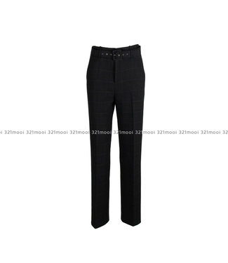 LIV THE LABEL LIV THE LABEL  - MARI - classic high waist trousers - black