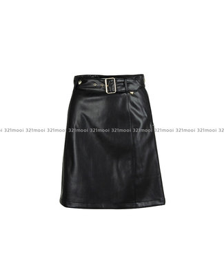 TWINSET MY TWIN TWINSET My Twin - fake leather skirt - 192MP2031/0006