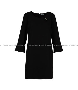LIU JO LIU JO - EDEN TWILL PL TP  -  DRESS - NERO - W69323-T7982