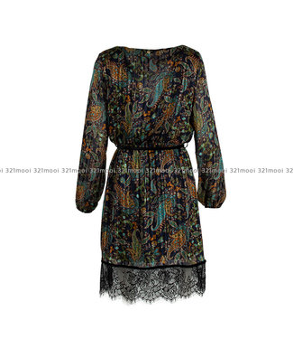 LIU JO LIU JO - GEORGETTE LUREX -  DRESS - F69012-T4108