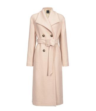 PINKO PINKO kledij - Ideal cappotto panno vintage beige-smoke grey
