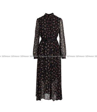 LIU JO LIU JO - ADDITIONAL  -  DRESS - BLACK PROVENCE - F69332-T4130