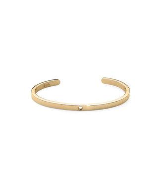 QUDO FAMOSA QUDO FAMOSA - armband Bangle COMO    G - 173202 GOLD