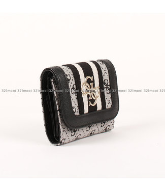 GUESS GUESS - GUESS VINTAGE LCLUTCH SML TRIFOL - SWSG7304430BLA