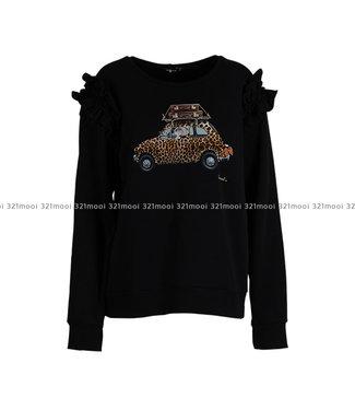 DURANTI DURANTI - Sweater Leopard SWF-BK