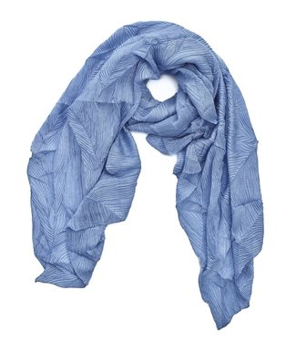 TITTO SKEEBY - SCARF - structured - col. blue