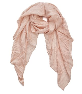 TITTO SKEEBY - SCARF - structured - col. pink