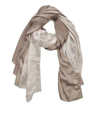 TITTO SPALDING - SCARF - plain bicolore - col. beige