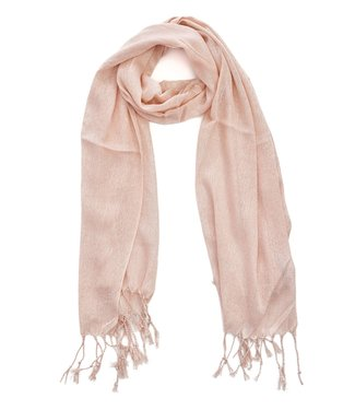 TITTO SHEFFIELD - SCARF - glitter - 100% poleyster - 170x60 - col. pink