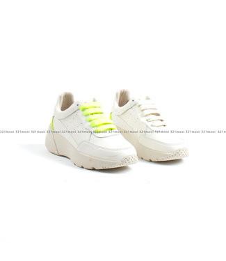 MARCH23 MARCH23 schoenen - Sneakers ALECRO off white + Neon YELLOW