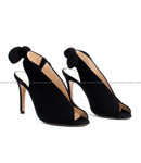 MARCH23 MARCH23 schoenen - Pumps Love CN black suede ⎜ WEBSHOP