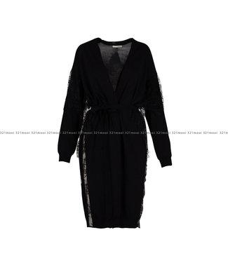 RELISH RELISH kledij - Cardigan NAMASTES - BLACK-1199