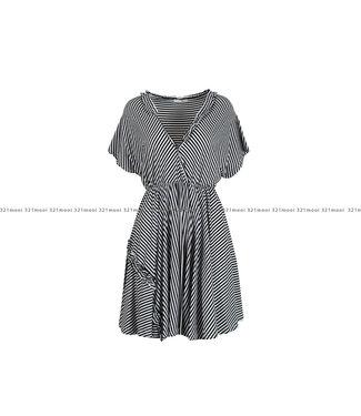 RELISH RELISH kledij - Kleed SALGERIN - BLACK-1199