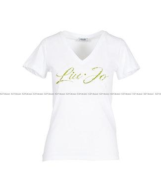 LIU JO LIU JO - T-shirt - LJ white label - WA0324-J5703 - 11111