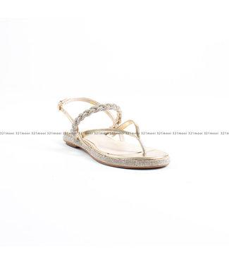 TWINSET MY TWIN TWINSET My Twin schoenen - Sandalen 201MCT03C - ORO CHIARO