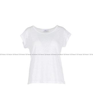 HEARTMIND HEARTMIND kledij-T-shirt HELLO LINEN WHITE