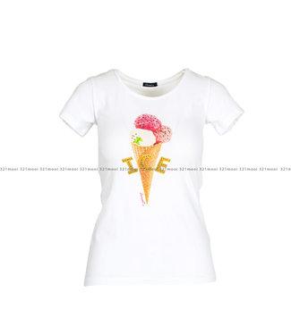DURANTI DURANTI kledij - T-shirt Ice cream