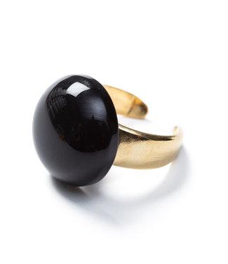 LAURENCE DELVALLEZ Laurence Delvallez - ring- LD - 271 Ena Ring Black