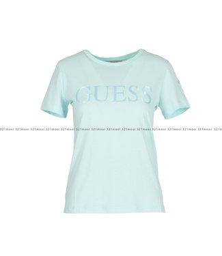 GUESS GUESS kledij T-shirt - SS RN SATINETTE - W0GI18K46D0G8E9