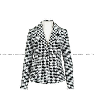GUESS GUESS kledij Blazer - YARAM BLACK WHITE - W01N65K9HN0FN96