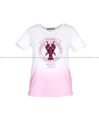 GUESS GUESS kledij T-shirt - SS CN LOBSTER - W01I81K46D0F68D