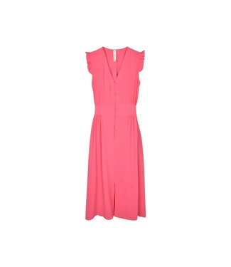 Loved by MIRACLES Loved by MIRACLES kledij - Kleed DRESS DRAGON BUBBLE PINK