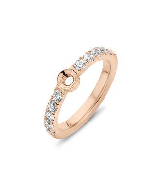 MELANO MELANO - Twisted Crystal ring